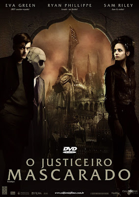 Filme Poster O Justiceiro Mascarado DVDRip H264 Dublado