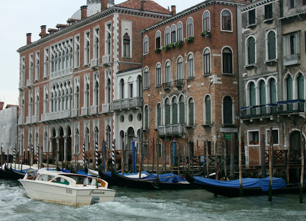 Grand Canal from vaporetto, Venice