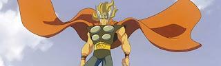 Hulk vs Thor Asgard marvel superhero animated cartoon Bruce Banner