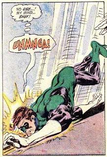 Green Lantern Hal Jordan ass butt fall funny comic DC