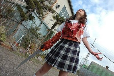 Tokyo Gore Police blade arm engineer schoolgirl