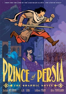 prince of persia graphic novel sina leuyen pham alex puvilland