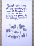 Isaiah 52:9 - 'Sing, you ruins!'
