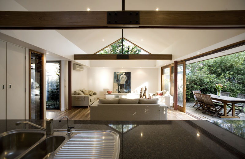 Home ideas for Completely open floor plans