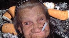 Minha mãe já fumou!