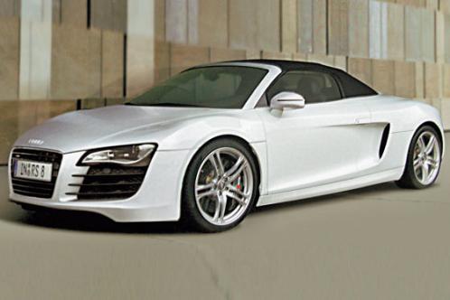 Audi on Uezere 4 Dalda Oeduel Alan Audi De Yuezler Guelueyor Audi R8 Spyder