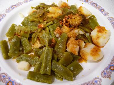 Jud as verdes con sofrito cocina por afici n - Como hacer judias verdes ...