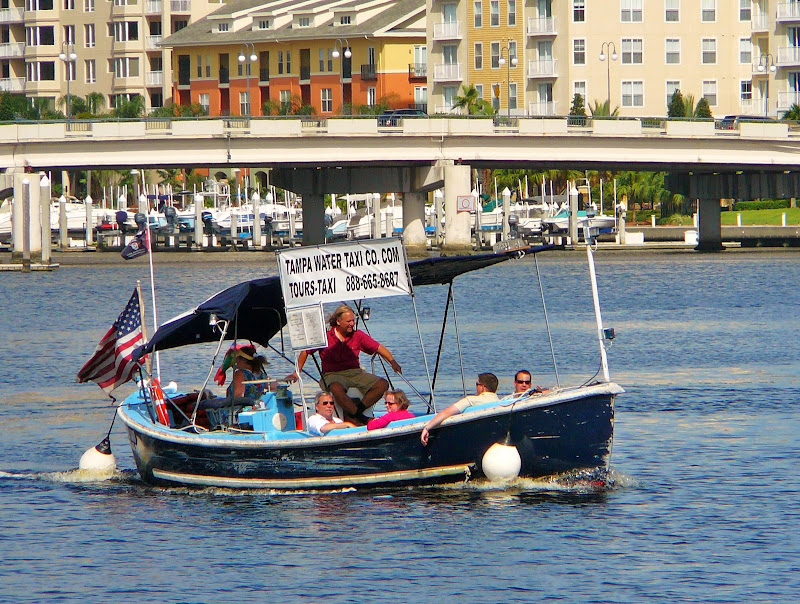 Water taxi Tampa