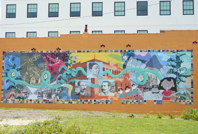 Tampa daily photo a colorful history unlike any other for City of tampa mural