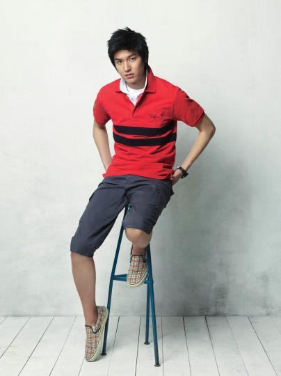photo] Lee Min Ho BTS Bang Bang Summer Photoshoot ~ Daily K Pop News