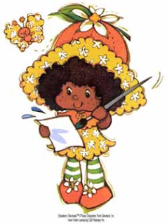 Orange Blossom Strawberry Shortcake Baby
