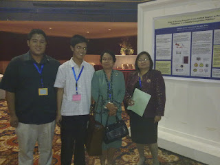 with Dr. Mila Llanes and Dr. Corazon dela Pena and friends from Western Visayas State University