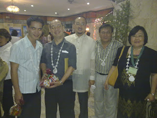 With Prof. Cocoy Acosta of Lyceum University of the Philippines, Dr. Rozzano Locsin, Atty. Pacquiao and Dr. Dula Pacquiao