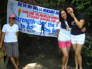 Mairelle Paje, Kea Estabillo and Ma. Leda Yumang
