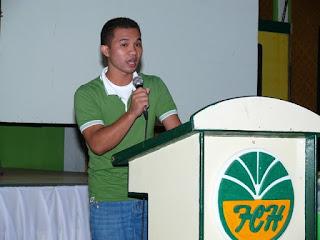 Jobert Porras from Davao Doctors College