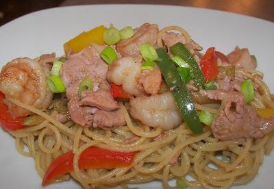 recettes  Les Nouilles de Singapour