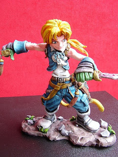 Orme Magiche final fantasy 9 Zidane Tribal Action Figure