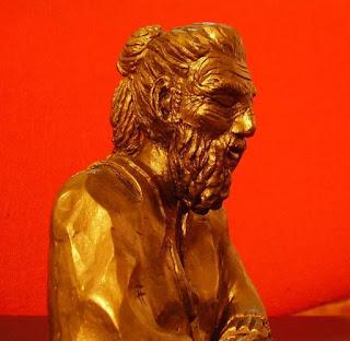 orme magiche sculture scultura saggio himalayano creta fatte a mano artigianato italiano