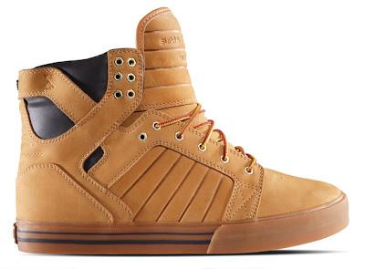Supra Gold Shoes Mens