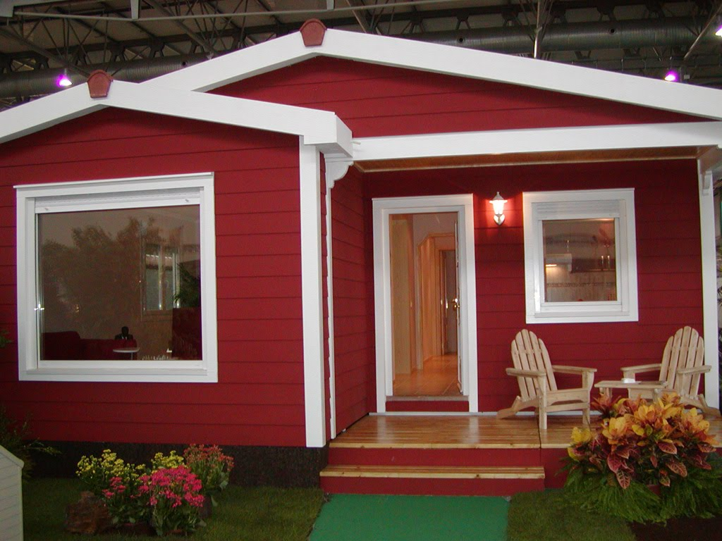 Criarte fachadas residenciais for Pinturas bonitas para casas