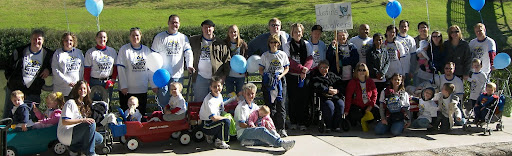 Justin's Jaywalkers Buddy Walk group