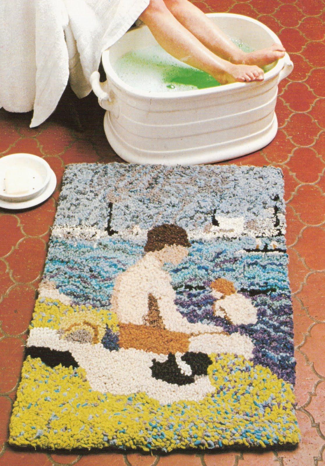 Alfombra con retales nudos artesanias chaco macrame - Como hacer alfombras de nudos ...