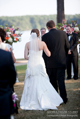 bride and her dad walk down the aisle emotional documentary photography