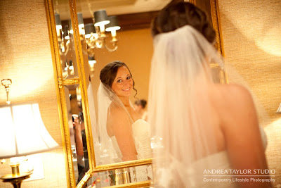 brides after her veil is just put on timeless emotional candid photography