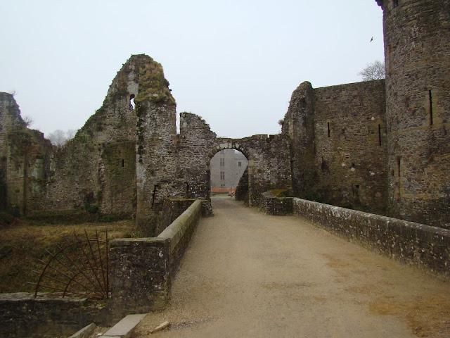 Avanço do castelo