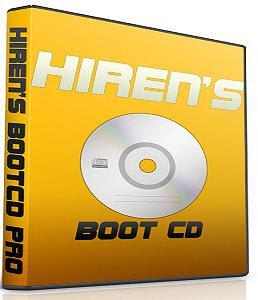طريقة تشغيل اسطوانة الهيرن من على الفلاش ديسك وهدية لكم اخر اصدارHiren's BootCD v10.4