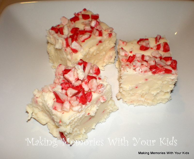 Back In Time TheCFarm (1): White Chocolate Peppermint Fudge