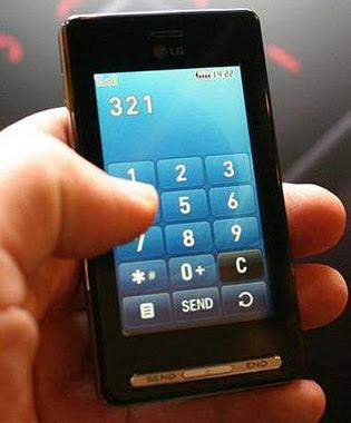 de juegos y aplicaciones touch screen para celulares Lg Cookie y