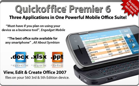 Quickoffice pro6