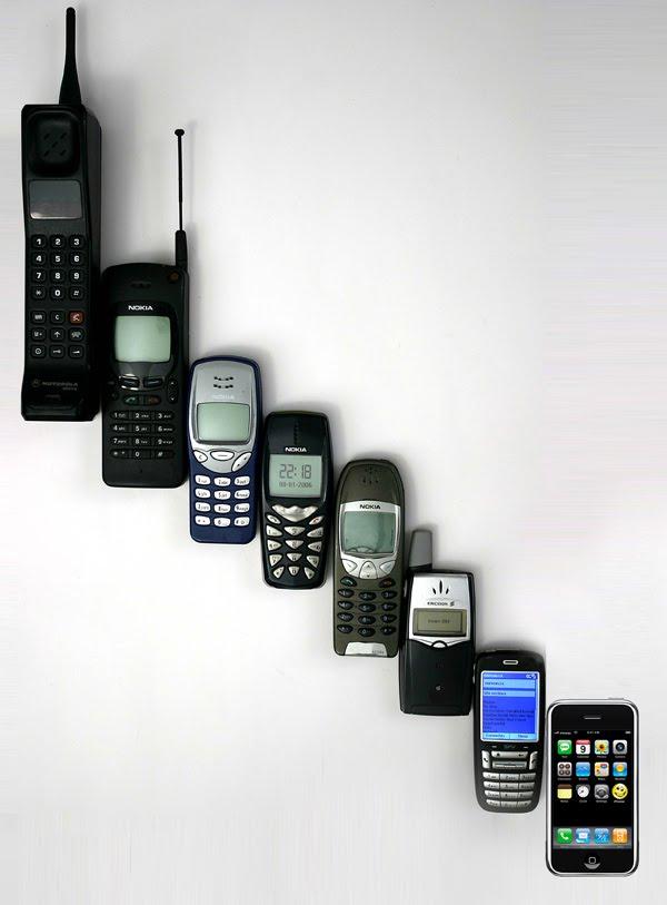 La Evolución del Celular (Con imágenes) ~ UN MUNDO MOVIL