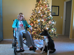 Our Christmas Tree, Kim & Bella