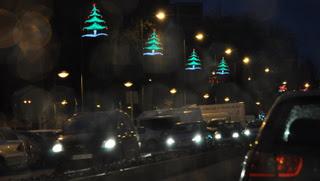 Luces de navidad en Leganes