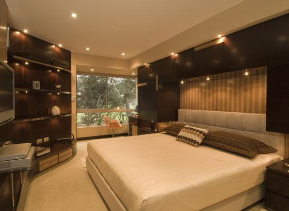 Decoracion Recamara Principal Moderna ~ DORMITORIOS MATRIMONIALES Dormitorio matrimonial en tonos oscuros de