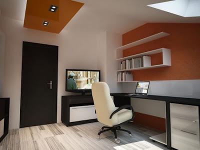 Oficina para 2 con sala de espera fotos de oficinas y for Oficina moderna en casa
