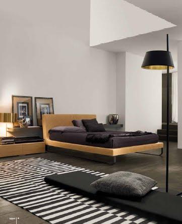 Dormitorios para hombres en colores oscuros y sobrios for Dormitorios juveniles para hombres