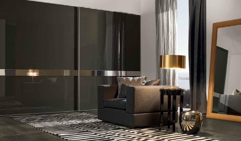 Dormitorios para hombres en colores oscuros y sobrios for Disenos de cuartos para hombre