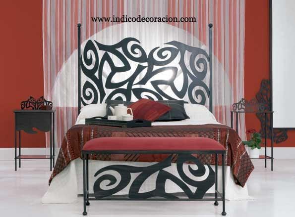 Dormitorio rojo negro cabecera - Dormitorio negro y rojo ...