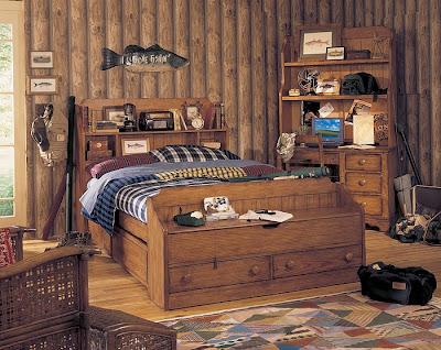 Estilos de Decoración VIII - Página 26 Dormitorio-rustico-infantil