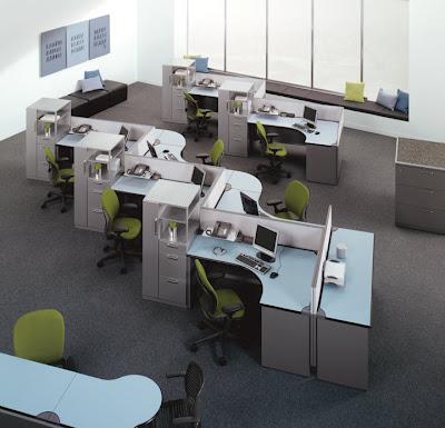 Un espacio dinamico para oficinas fotos de oficinas y for Modulos de oficina