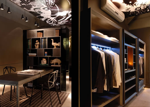Dormitorio fresco recamara para hombre de flavio for Disenos de cuartos para hombre