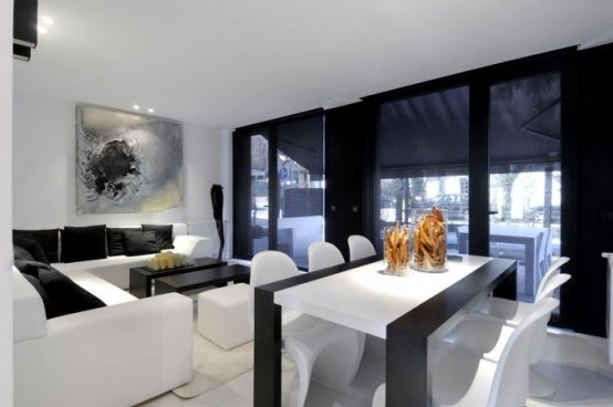 ... NEGRO : SALAS Y COMEDORES DECORACION DE LIVING ROOMS DECORATION