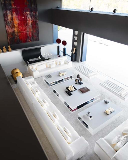 Ideas para salas muy grandes y amplios espacios de living for Salas grandes decoracion