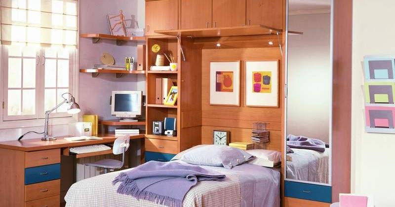 Decoraci n de dormitorios funcional dormitorio juvenil - Decoracion de dormitorio juvenil ...