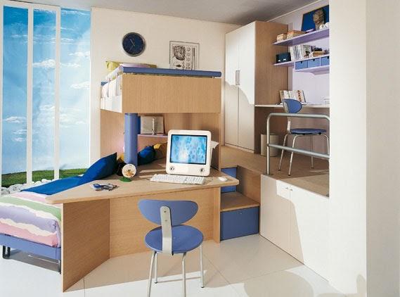 Sangiorgio recamara ahorra for Dormitorios infantiles de diseno