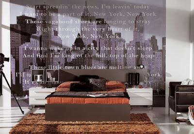 Habitaciones empapeladas juveniles decoraci n de - Vinilos dormitorios juveniles ...