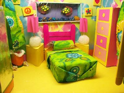 Dormitorio infantil o recamara juvenil a todo color - Decoracion dormitorios infantiles ...
